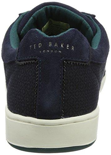 Ted Baker Herren Kiefer Testo Am Dk Blue Sneaker Blau (blu Scuro)