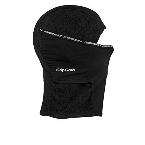 GripGrab Winter-Fahrradmaske und -mütze | Sport-Balaclava für Damen, Herren und Kinder | Schwarz