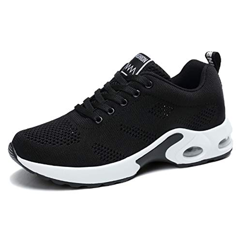47b3ae493 Lanchengjieneng Moda para Mujer Entrenador de Running de Aire Transpirable  Jogging Fitness Sneakers Casual Walking Shoes