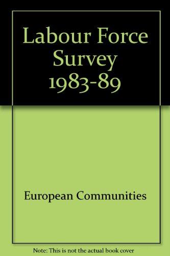 Descargar Libro Labour Force Survey 1983-89 de European Communities