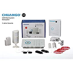 GSM alarma Original Chuango CG de G5Incluye iPhone + Android App