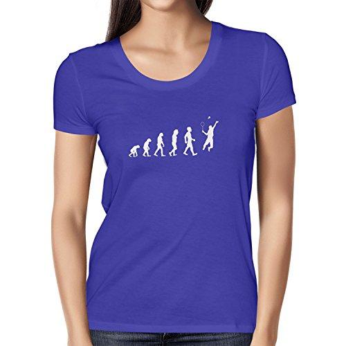 Texlab Badminton Evolution - Damen T-Shirt, Größe M, Marine
