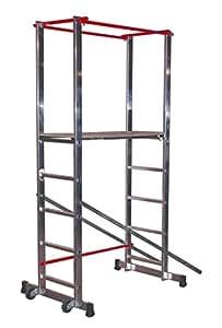 Escalux Stratus 140 V18072 Echafaudage en Alu Hauteur de travail 3,60 m