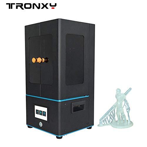 TRONXY Ultrabot SLA 3D-Drucker mit Touchscreen, 5,5-Zoll-Bildschirm zum schnellen Schneiden von Druckgröße 4. 65 x 2,6 x 7,08 Zoll - 7