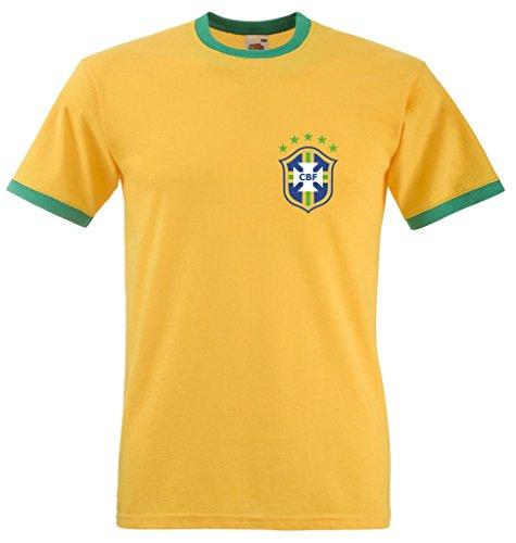zappatee - Camiseta - para Mujer Amarillo Amarillo Medium