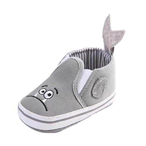 Culater® Sneakers bambino del bambino pattini della greppia di fiore morbida suola antiscivolo (13)