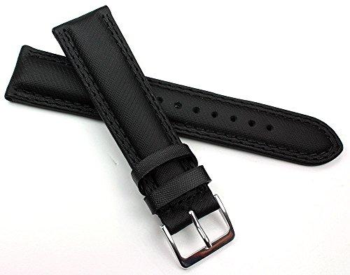 20mm in vero cuoio nero orologio da polso Band Hang potere in Germania