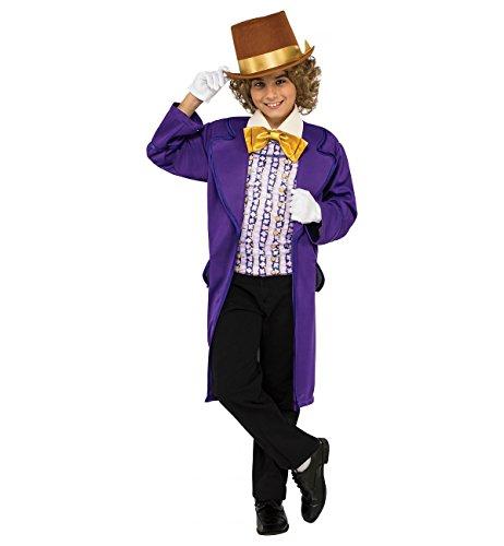 Rubie's offizielles Kinderkostüm zu Willy Wonka und die Schokoladenfabrik