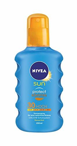 Nivea sun – Protect & bronze, spray solar, lsf 30, (200 ml)
