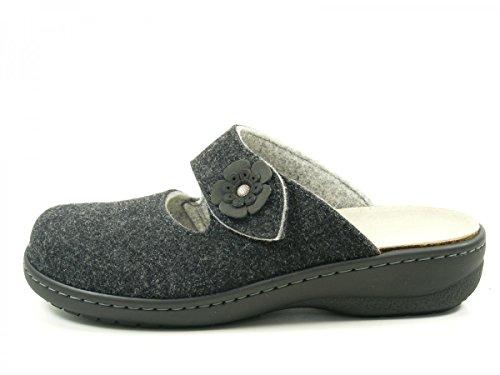 Dr. Brinkmann 700956 Pantofole Donna Schwarz