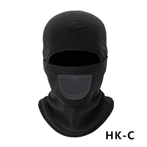 Yangyme Skiausrüstung Vollgesichtsmaske mit winddichtem Staubschutz Multifunktionaler, atmungsaktiver Gesichtsschutz zum Snowboarden, Skifahren, Motorradfischen, Jagen, Radfahren (Snowboarden Hüte)