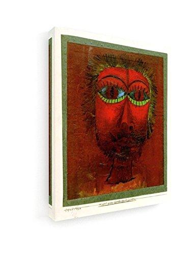 Paul Klee - Leiter Einer berühmten Robber - 1921-20x25 cm - Premium Leinwandbild auf Keilrahmen -...