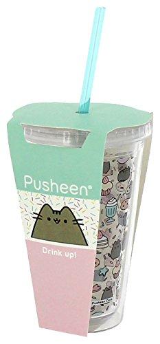 Pusheen bevande tazza con cannuccia