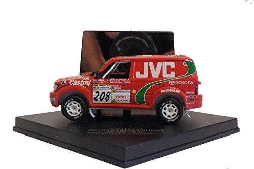 "Preisvergleich Produktbild Modellauto, Toyota Land Cruiser Long ""JVC"", Rallye Paris-Granada-Dakar 1998, 1:43"