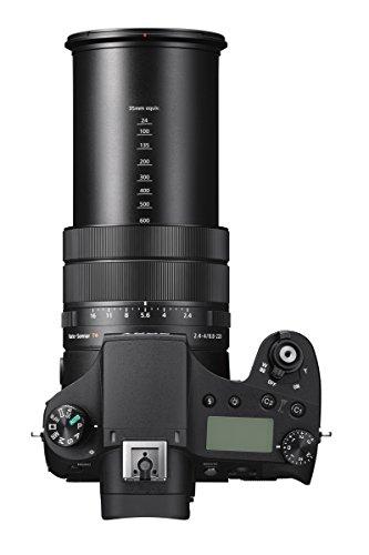 """Sony DSC-RX10M4 Fotocamera Digitale Cyber-Shot con Autofocus Ultra-Rapido 0,03 secondi, Sensore CMOS Exmor RS da 1"""" e 20,1 Megapixel, Scatto a 24 fps, Obiettivo ZEISS Vario-Sonnar T 24-600mm, F2,4-4"""