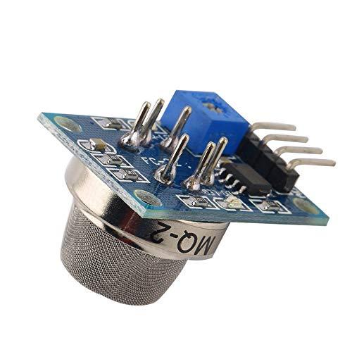 ghfcffdghrdshdfh MQ-2 MQ2 Smoke Gas LPG Butane Hydrogen Gas Sensor Detector Module for Arduino Mixture Home Factory Gas Leakage Detection -