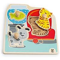 Hape - Puzzle con diseño mascotas (0HPE1300) - Peluches y Puzzles precios baratos
