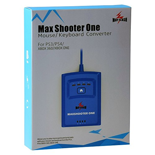 Mayflash Max Shooter One Maus Tastatur-Konverter für PS3 PS4 Xbox 360 Xbox One S Elite