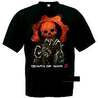 Comparador de precios Camiseta Gears of War 3 (Lancer saw)negra manga corta (Talla: TallaXS Unisex Ancho/Largo [49cm/62cm] Aprox]) - precios baratos