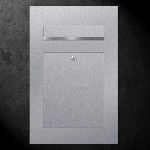 ZED Unterputz Briefkasten aus Edelstahl - 3