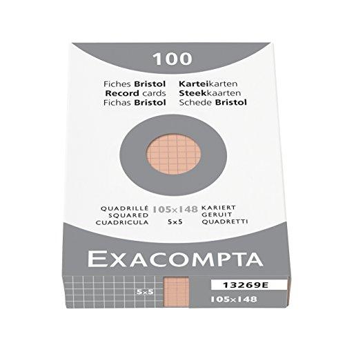exacompta-13269b-cartoncini-bristol-10x14-cm-arancio