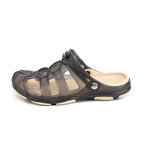 Sommer Sandalen gelee Strandschuhe männer schlüpfen auf geschlossenen zehen schnürung Flache Strand Hausschuhe Schuhe im freien entspannende flip Flops -