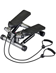 Body Sculpture BS1320 - Máquina de step para fitness, color plata / negro
