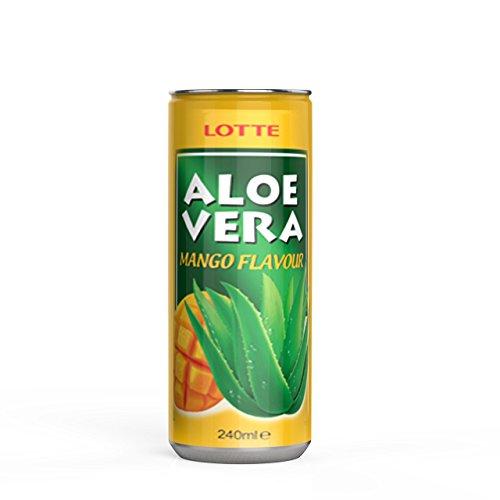 Aloe Vera Mango, Aloe Vera Drink aus der Aloe Vera Pflanze, Aloe Vera Gel, Aloe Vera Saft, Aloe Vera Getränk (Mango) (Aloe Granatapfel-saft Vera)