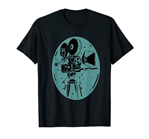 Filmemacher Tshirt I Vintage Filmkamera Fotografen Geschenk