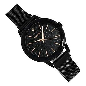 Ho clock Damenuhr Milan Iron Uhrenarmband Star Watch Die Uhr des Kreativen Vintage Quarzmädchens