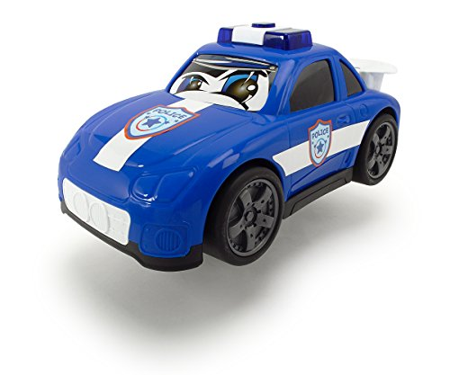 Dickie Toys 203814003400 - Happy Rescue, Voiture de Police, Véhicule, 29 cm