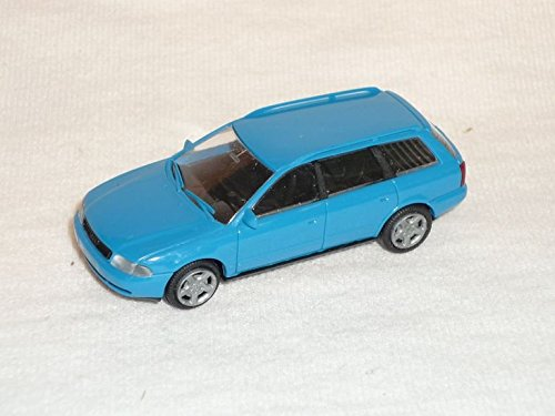 Preisvergleich Produktbild Audi A4 A 4 B5 B 5 Avant Kombi Blau 1994-2001 Ho H0 1/87 Rietze Modellauto Modell Auto