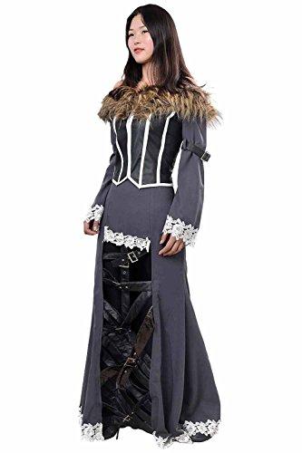 tasy X FF10 Lulu Outfit Cosplay Kostüm Damen XXXL ()
