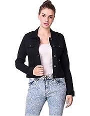 SAIRA FASHION Women- Denim Black- Jacket