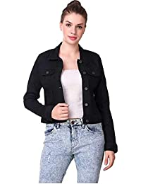 SAIRA FASHION Women- Denim Black- Jacket