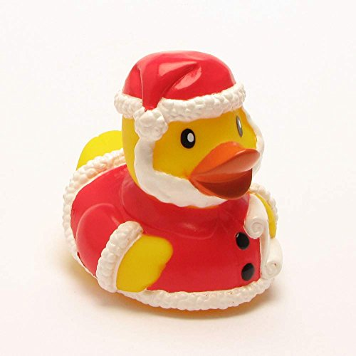 yl Badeente Santa Weihnachtsmann Gummi 9 cm (Kostüme Ideen Mit Bart)