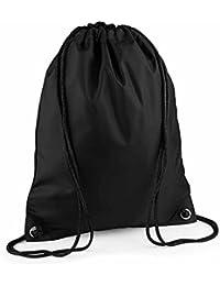 BAG BASE - sac à dos à bretelles - gym - linge sale - chaussures - BG10 - noir