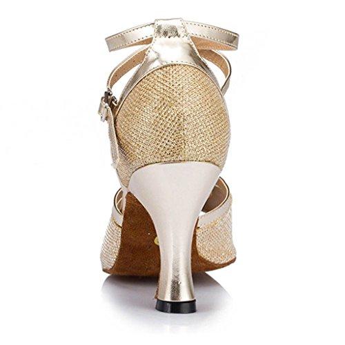 Meijili ,  Damen Tanzschuhe Gold