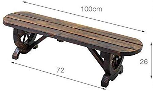 HBJP Massivholz-Balkon-Blumenregal, Innen Wohnzimmer Bench Flower Stand Gartenbank, 120 * 26 * 28cm, 120 * 38 * 28cm Blumenständer (Color : 120 * 38 * 28cm)