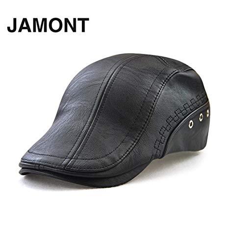 Laurelmartina JAMONT 12982 Primavera Otoño Invierno Masculino Gorra de  béisbol Hombres Beret Casual Peaked Cap Grid 7807f086afc3