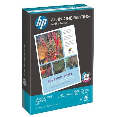HP PAPIER ALL-IN-ONE-PRINTING A4, 80G, 5 x 500 BLATT - Inkjet-laser-drucker Hp