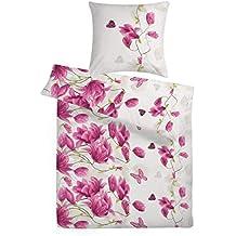 Blumen Bettwäsche Rosa Weiß Suchergebnis Auf Amazonde Für