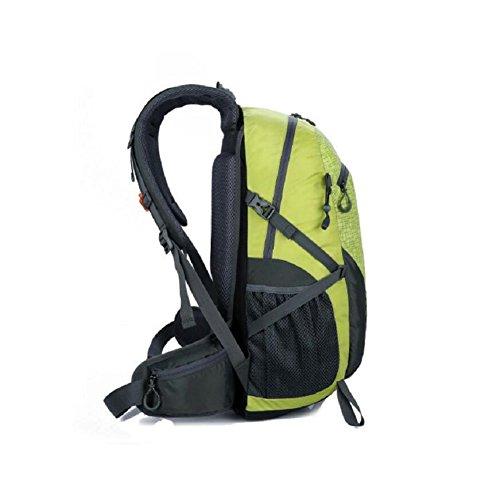 LF&F 40-50L GroßE KapazitäT Hochwertige Nylon Outdoor Sporttasche Bergsteigen Rucksack Studenten Tasche Mehrzweck Reiten Urlaub Camping GepäCk TäGlicher Gebrauch E