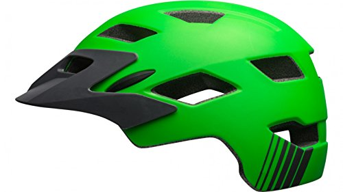 Bell Unisex Jugend SIDETRACK Child Fahrradhelm Matte Kryptonite/Titanium Unisize