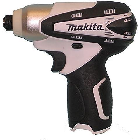 Makita TD090DZW - 10.8 v conducente impatto unità nuda bianco - 18v Cordless Drill Set