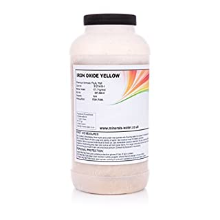 400g Yellow iron oxide powder★pigment★Make sure to checkout with Minerals-water.ltd to get what's on the picture★