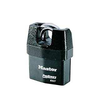 Master Lock Padlock, ProSeries Weather Tough Padlock with Shrouded Shackle, High Security Lock Best Used for Transportation and Industrial Applications, 66m Wide