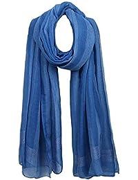 a5f4ec94203f DaoRier écharpe Femme écharpe Hiver Longue Elégant Etoles Écharpe comme  Accessoire Parfait pour l automne