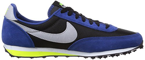 Nike Elite Gs, Baskets Basses garçon Multicolore (Black/Wolf Grey-Gym Blue-Volt)