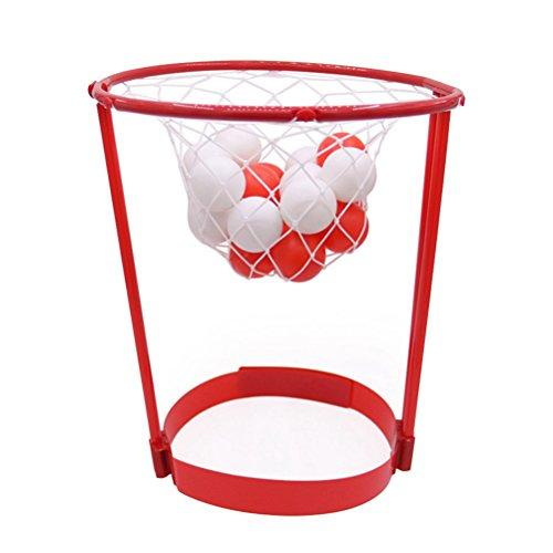 op Ball Fang Basketball Spiel Kopf Strap Party Favors Outdoor Eltern-Kind-Spielzeug (rot) ()